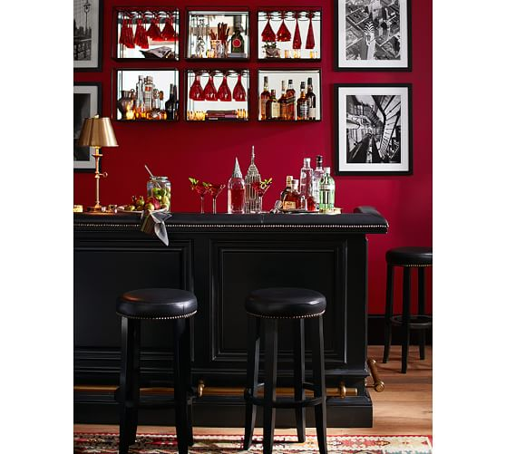 Pottery Barn Furniture Return Policy: Cut Glass Red Barware, Set Of 4