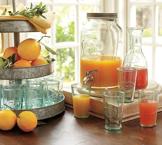 Mason Jar Drink Dispenser Pottery Barn