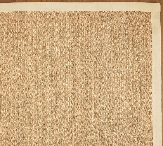 Color-Bound Seagrass Rug - Natural | Pottery Barn