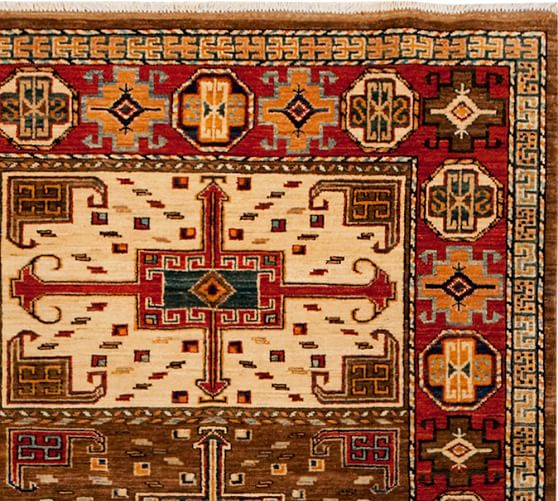 arzu studio hope guidance hand knotted rug pottery barn