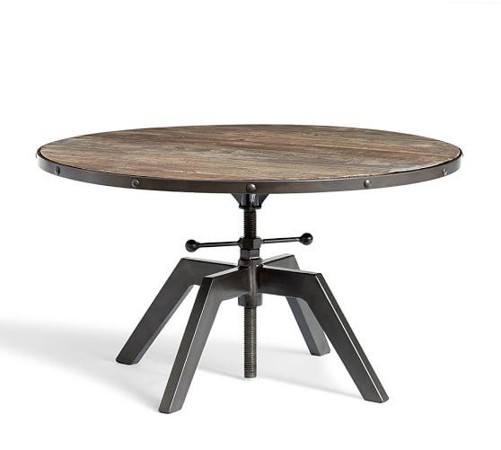 Blaine Reclaimed Wood Adjustable Bunching Coffee Table Pottery Barn