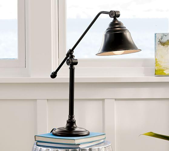 Pottery Barn Vintage Desk Lamp: Wyatt Table Lamp