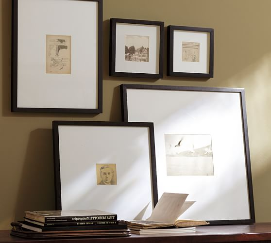 Wood Gallery Oversized Mat Frames Pottery Barn