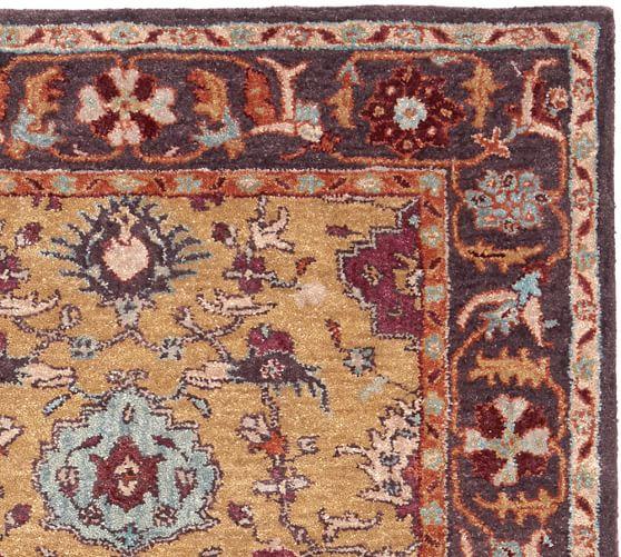 Baxter persian rug pottery barn - Discontinued pottery barn rugs ...