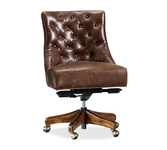 tufted office desk chair 3