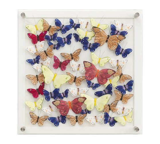 mariposa butterfly shadow box 3