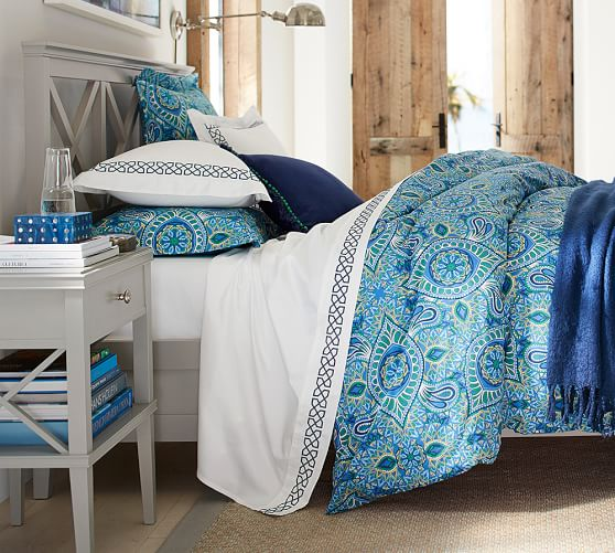 Clara Lattice Bed Pottery Barn