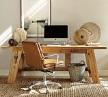 Hendrix Smart Technology™ Desk, Large, Heirloom Pine finish