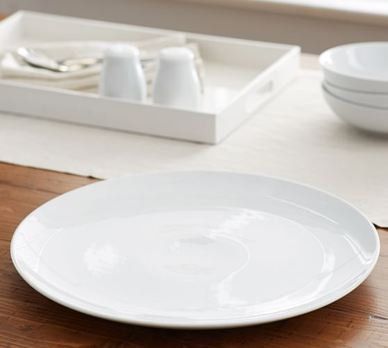 Great White Coupe Serving Platter