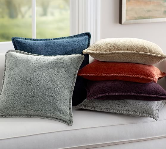 Chenille Jacquard Pillow Cover