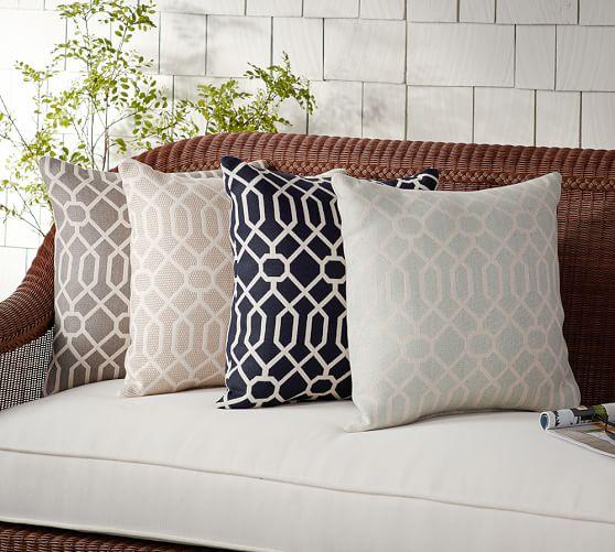 Sunbrella® Griffin Indoor/Outdoor Pillow