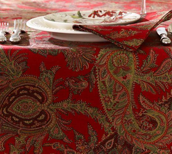 Caroline Paisley Tablecloth