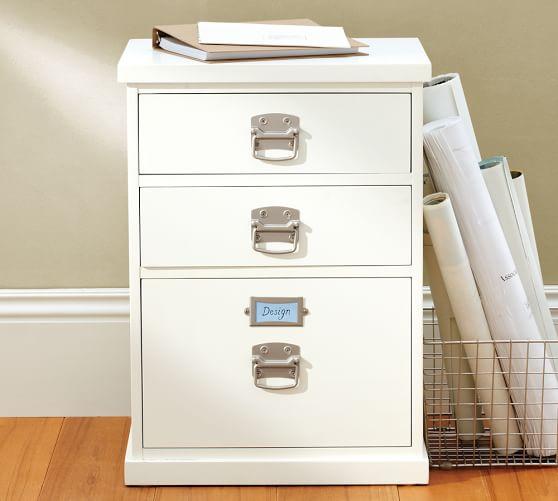 bedford 3 drawer file cabinet pottery barn. Black Bedroom Furniture Sets. Home Design Ideas