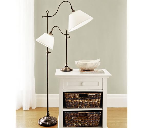 Pottery Barn Phoenix Lamp: Adair Floor Lamp