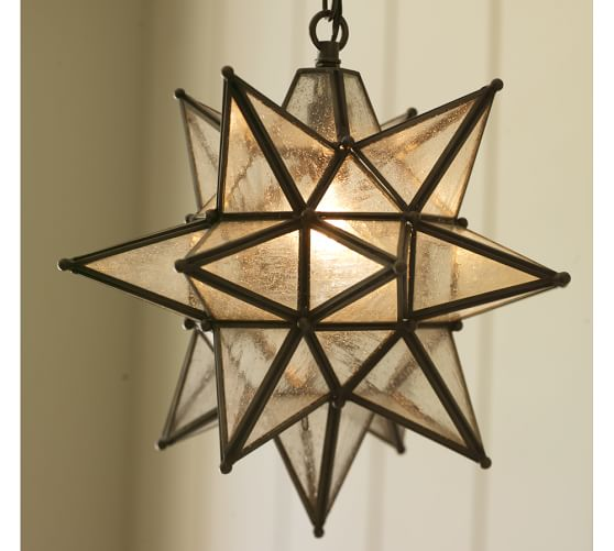 Olivia Indoor Outdoor Star Pendant Pottery Barn
