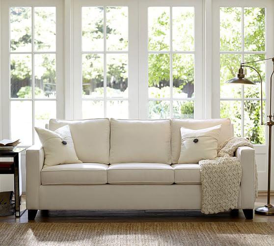 Cameron Square Arm Upholstered Sofa Pottery Barn