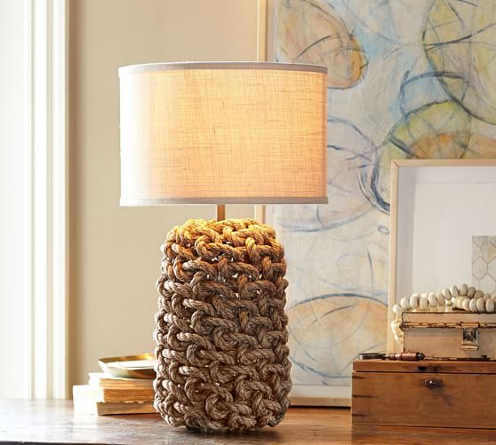Interlaced Rope Table Lamp Base Pottery Barn