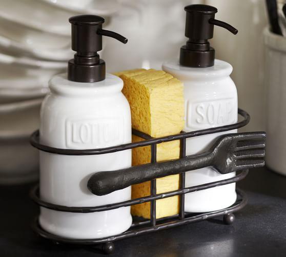 Soap Dispenser Set Kitchen