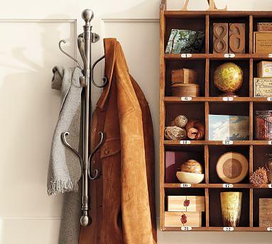 Wall mount coat rack m