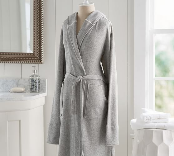 french terry robe pottery barn