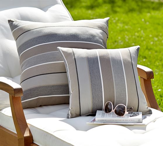 Sunbrella Milano Stripe Indoor Outdoor Pillow