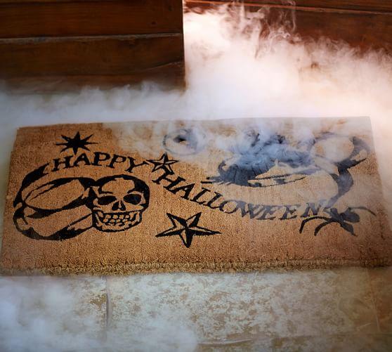Medieval Happy Halloween Doormat