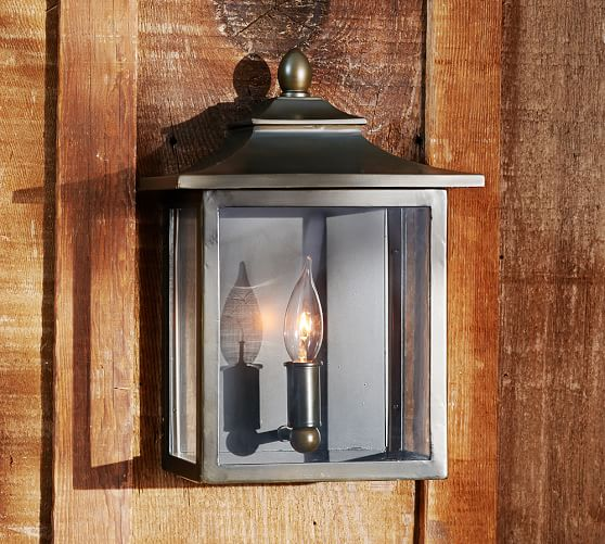 Classic Indoor Outdoor Sconce Pottery Barn