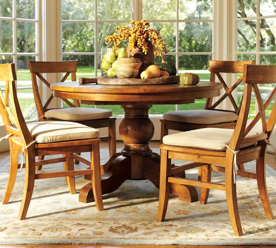 sumner extending pedestal table aaron chair 5 piece