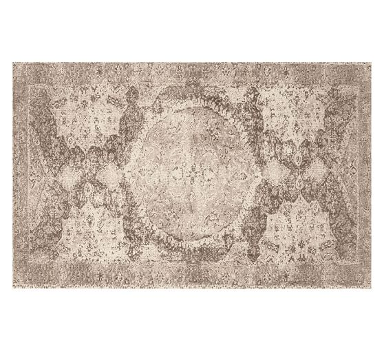 Why Adding A Rug Under Dining Table Sets Is A Must: Barret Printed Wool Rug - Neutral