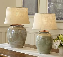 table lamps 249 quicklook courtney ceramic table lamp base ivory 130