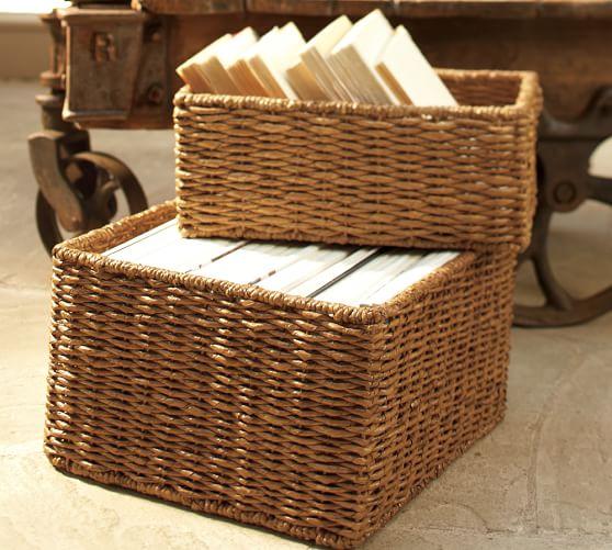 Samantha Seagrass Baskets