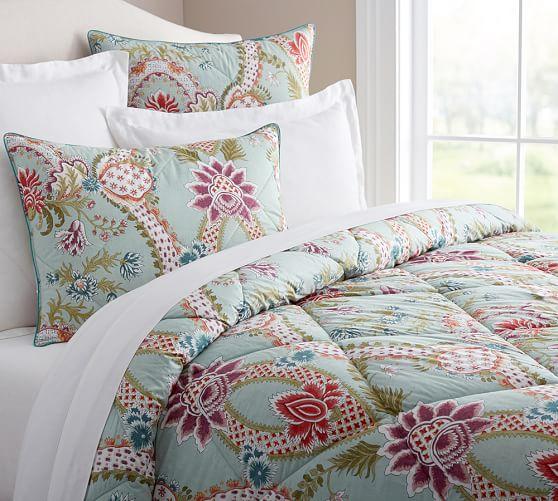 Billie Damask Comforter & Sham