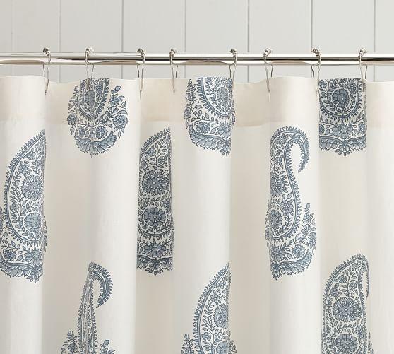 Rayna Paisley Shower Curtain Pottery Barn