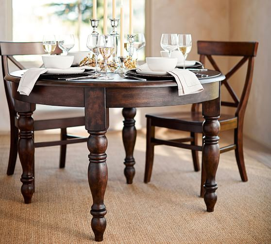 Evelyn Extending Round Dining Table