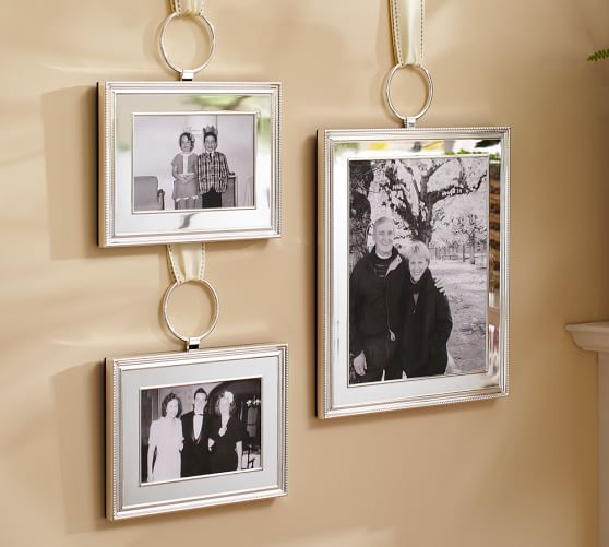 Henley Silver-Plated Hook Frame | Pottery Barn