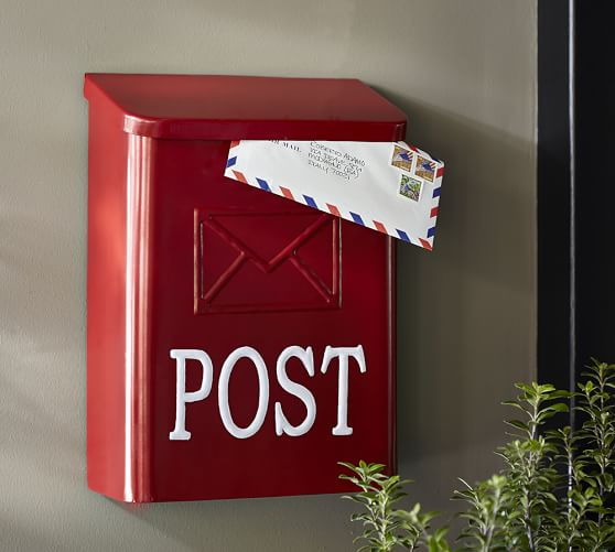 Red Post Mail Box Pottery Barn : red post mail box c from www.potterybarn.com size 558 x 501 jpeg 32kB