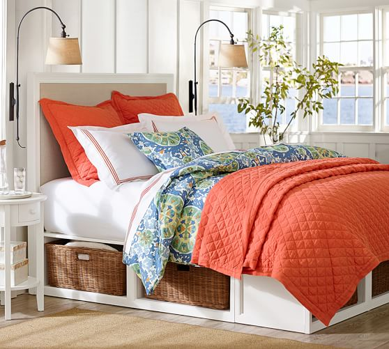 pottery barn stratton storage bed reviews 1