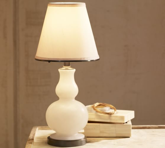 Milo Alabaster Accent Lamp Pottery Barn