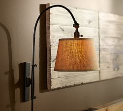 Plug In Wall Lamps Amp Plug In Sconces Pottery Barn