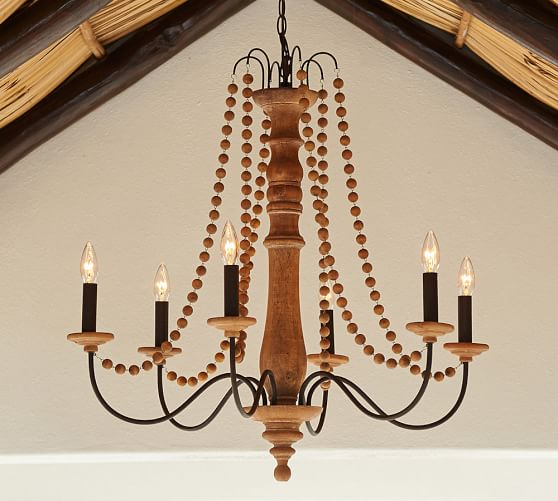 Evelyn Turned Wood IndoorOutdoor Chandelier Pottery Barn : evelyn turned wood indoor outdoor chandelier c from www.potterybarn.com size 558 x 501 jpeg 42kB