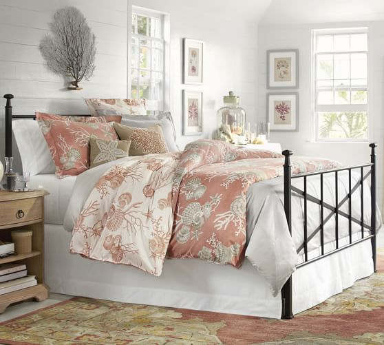Braxton Iron Bed Pottery Barn