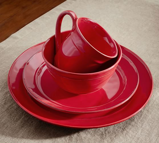 Cambria Cereal Bowl, Set Of 4 - Red