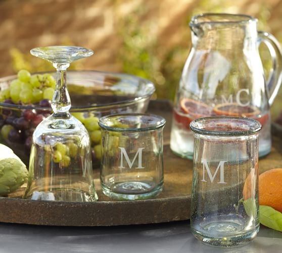 Casa Recycled Glassware, Set of 6