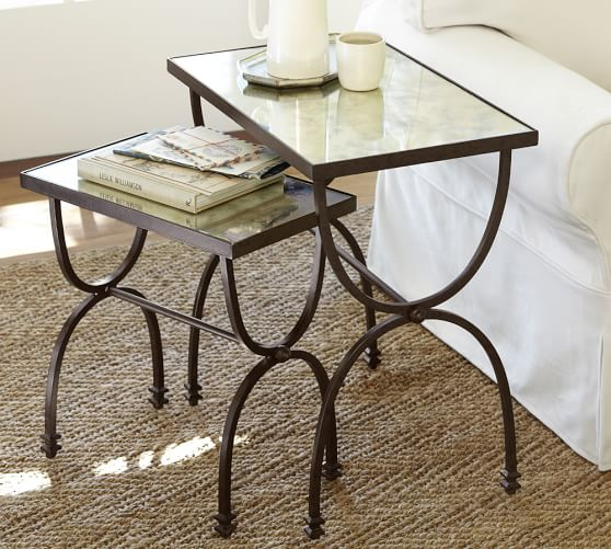 Willow Nesting Tables Set Of 2 Pottery Barn
