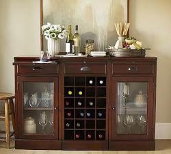 Home Bar Amp Bar Furniture Pottery Barn