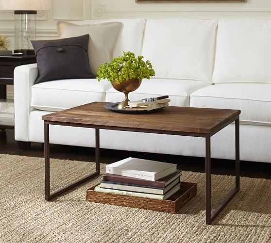 granger coffee table pottery barn