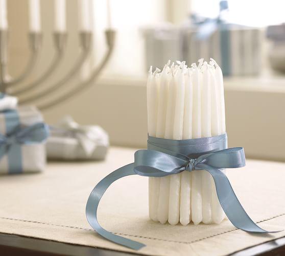 Hanukkah Tapers, Set of 45
