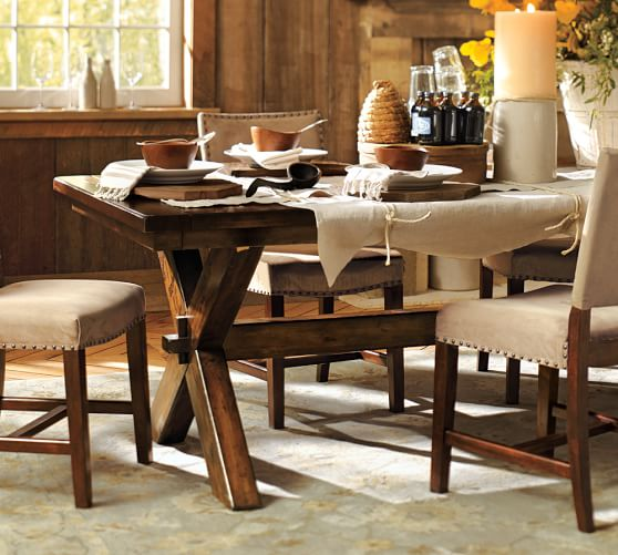 Image Result For Pottery Barn Toscana Fixed Dining Table