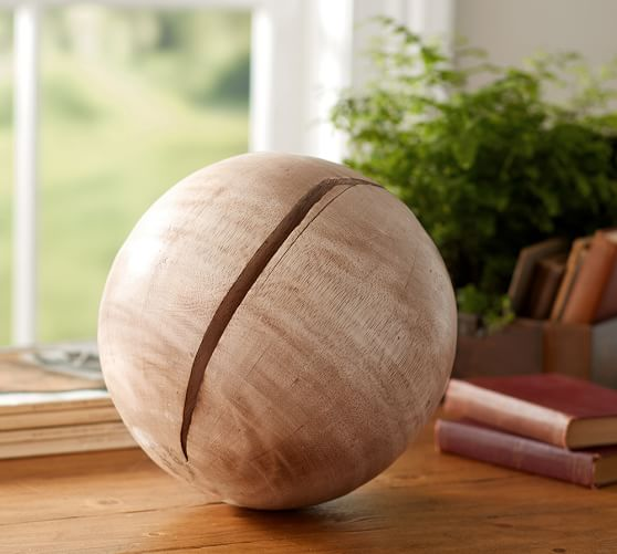 Pottery Barn Furniture Return Policy: Wooden Sphere