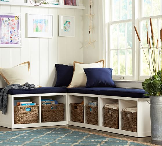 Banquette Storage: Build Your Own - Ryland Modular Banquette